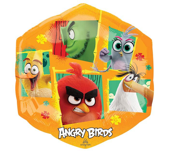 "23""PKG ANGRY BIRDS 2"