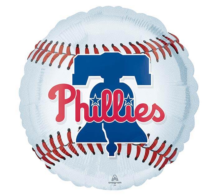 """17"""" MLB PHILADELPHIA PHILLIES BALLOON"""