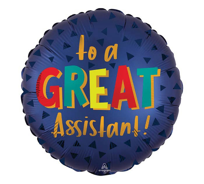 """18"""" SATIN LUXE GREAT ASSISTANT"""