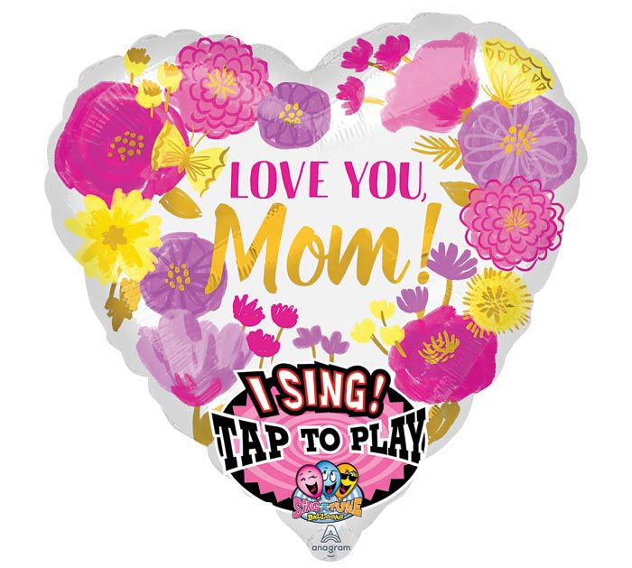 """28""""PKG FLORAL SWEET MOM SING A TUNE"""