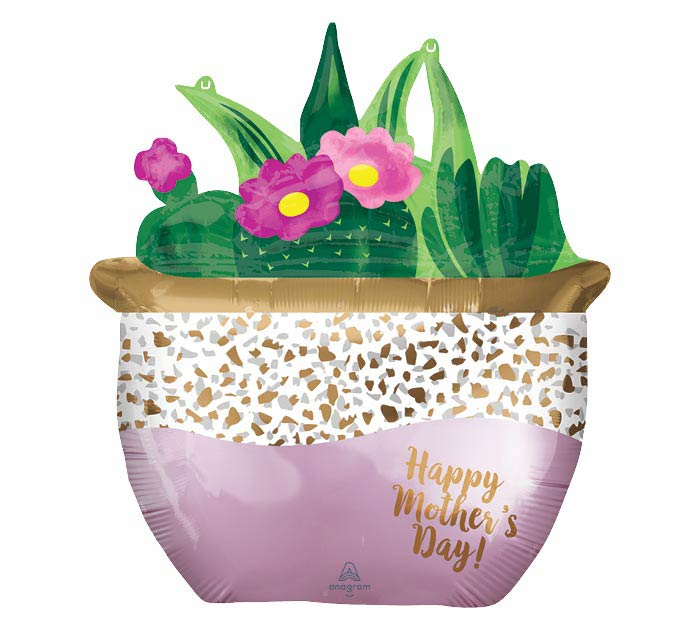 "26""PKG SATIN SUCCULENTS MOTHER'S DAY"