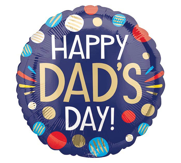 """17"""" HAPPY DAD'S DAY"""