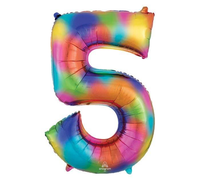 """33""""PKG SHA NUMBER 5 RAINBOW SPLASH"""