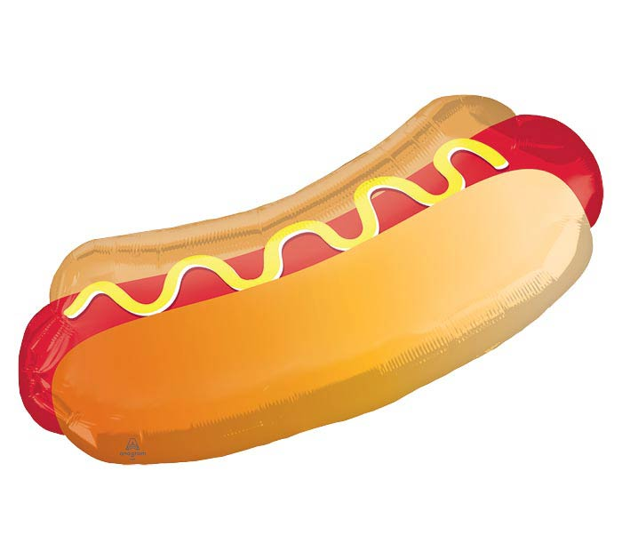 "33""PKG HOTDOG WITH BUN SHAPE"