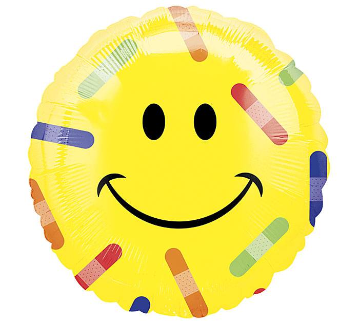 "17""GWS SMILEY FACE BANDAGES"