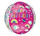 """16""""PKG ORBZ BIRTHDAY TRENDY ICONS 1st Alternate Image"""