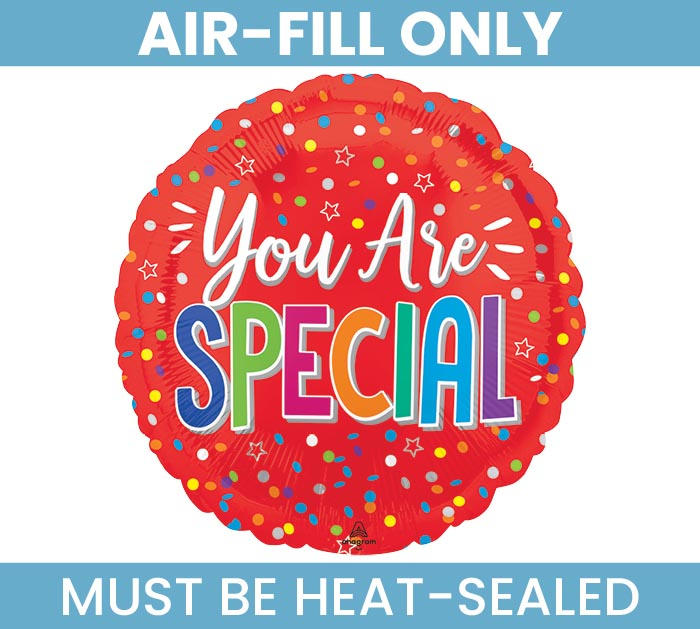 "9"" FLAT YOU ARE SPECIAL MINI BALLOON"