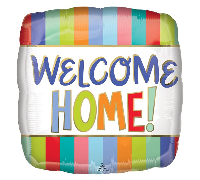 "17""PKG WELCOME HOME STRIPES"