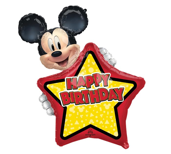 """30""""PKG HBD MICKEY MOUSE PERSONALIZED"""