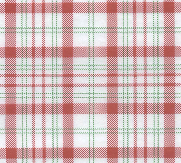 20X30 TISSUE PERFECTLY PLAID
