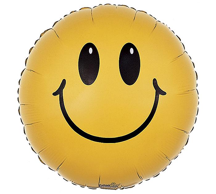 """17"""" SMILEY FACE"""