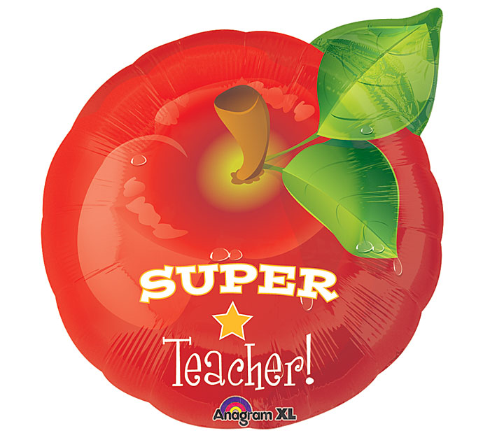 "18""TEA SUPER TEACHER"