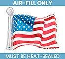 """14"""" FLAT USA FLAG"""