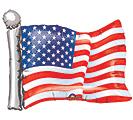 """27""""PAT AMERICAN FLAG"""