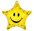"20""SMILEY FACE STAR"