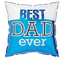 "9"" BEST DAD EVER"
