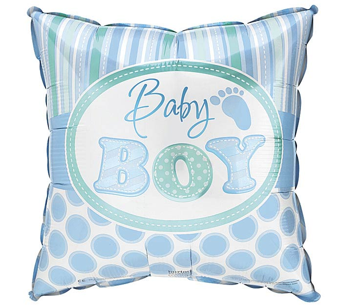 """9"""" INFLATED BABY BOY"""