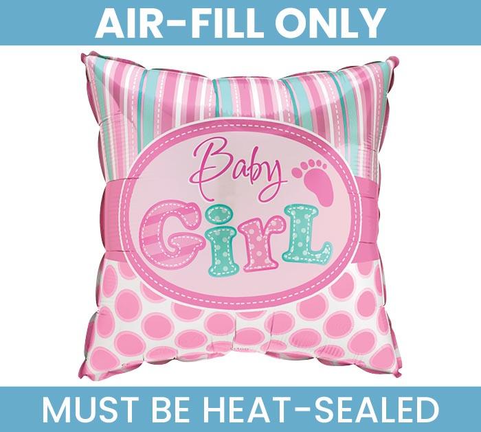 """9""""FLAT BABY GIRL"""