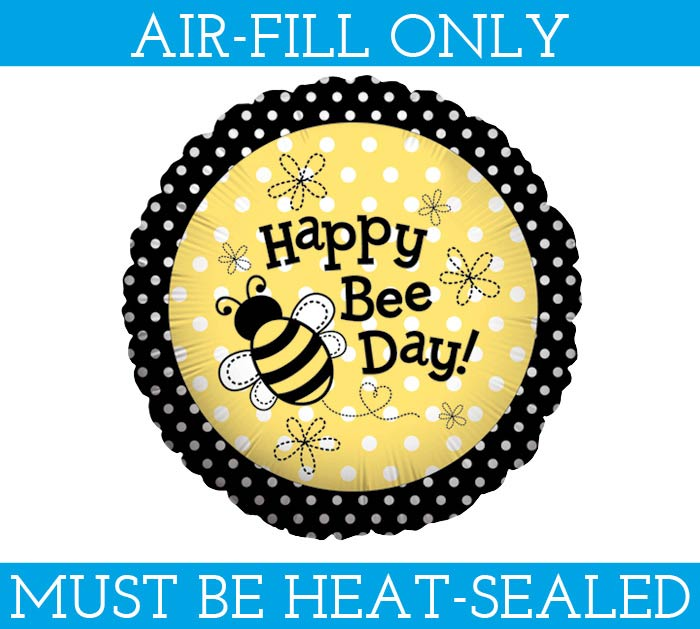 "9""FLAT HBD BEE DAY"