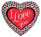 "17""ILY HEART ICONS"