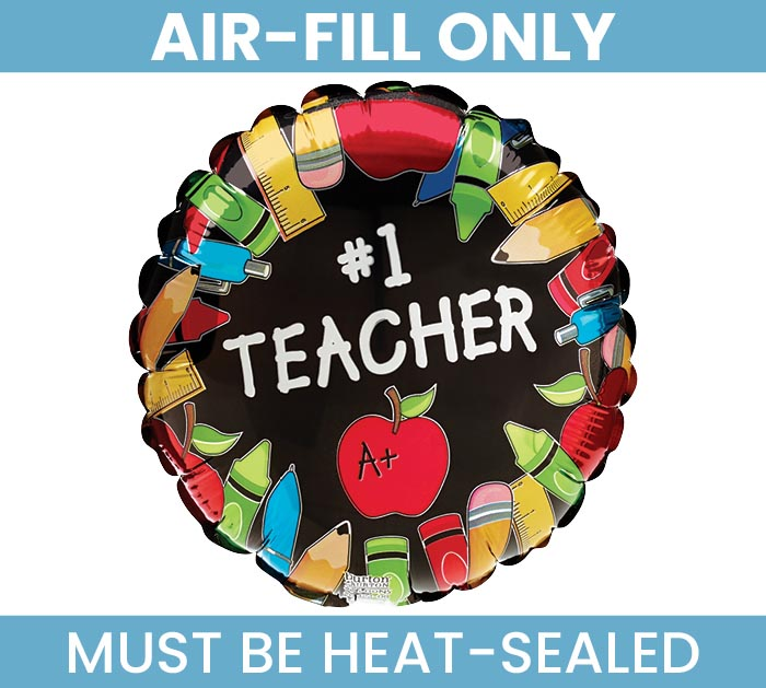 """9"""" TEACHER MUST FILL WITH AIR ONLY"""