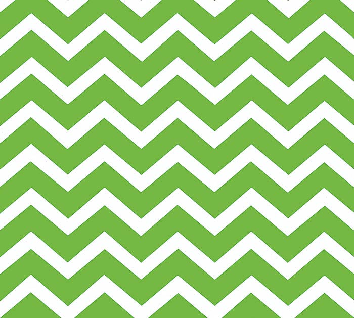 20X20 GREEN CHEVRON
