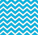 20X20 BLUE CHEVRON