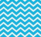 20X20 BLUE CHEVRON