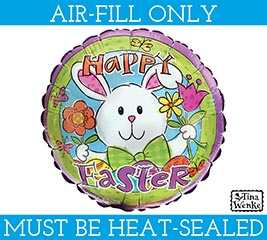 "9""EASTER BALLOON MUST BE FILLED WITH AIR"