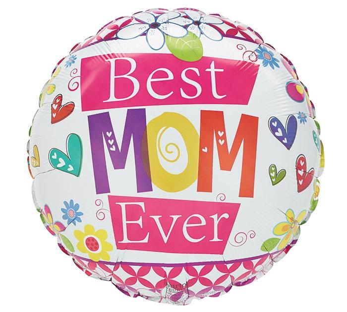 "17""MOM BEST MOM EVER"