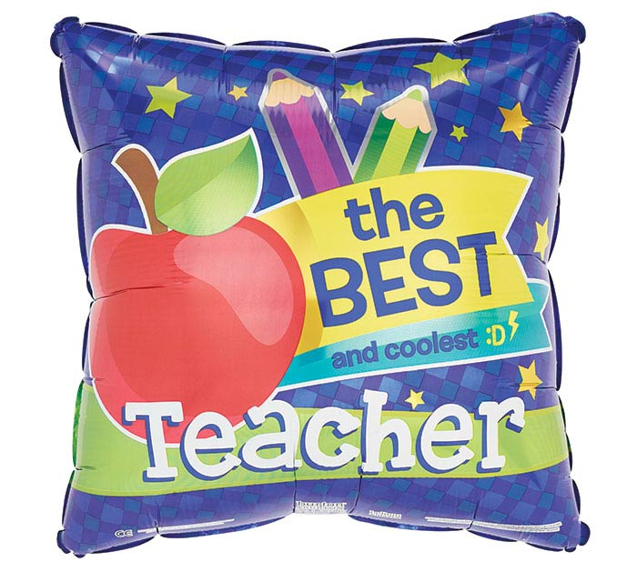 "17""TEA BEST TEACHER"
