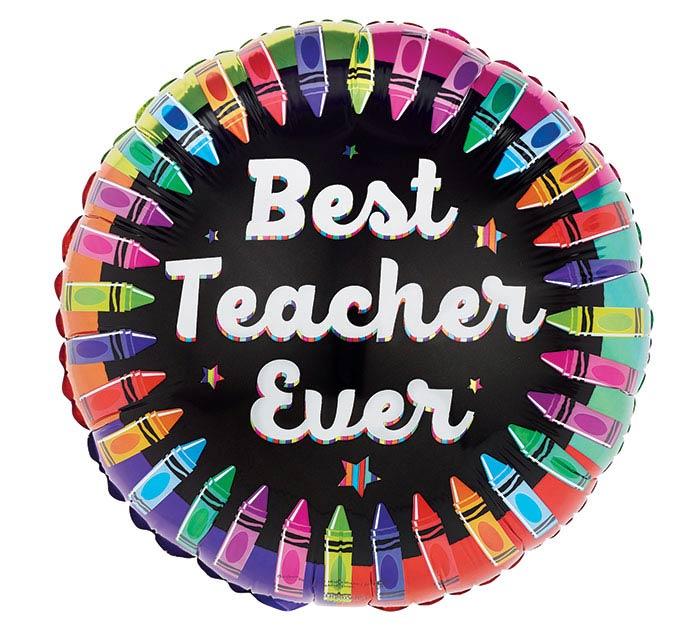 """17""""TEA BEST TEACHER"""