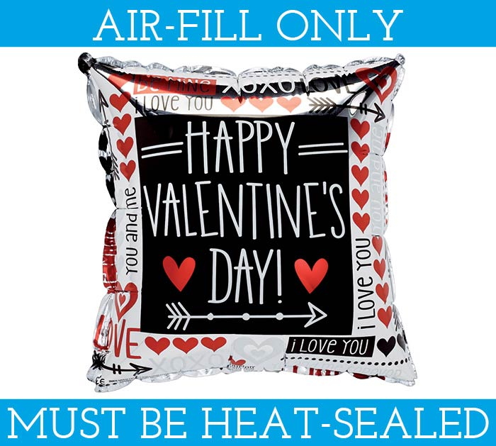 "4""FLAT HVD MINI SHAPE BALLOON"