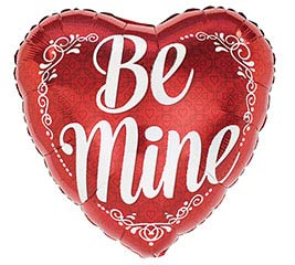 """17""""VAL BE MINE"""