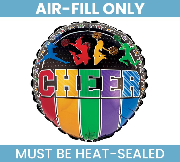 "9"" CHEER MUST FILL WITH AIR ONLY"