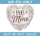 "9""FLAT BE MINE MINI SHAPE"