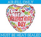 "9""FLAT HVD LUV N COLOR"