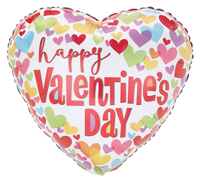 """17""""HVD LUV N COLOR HAPPY VALENTINE'S DAY"""