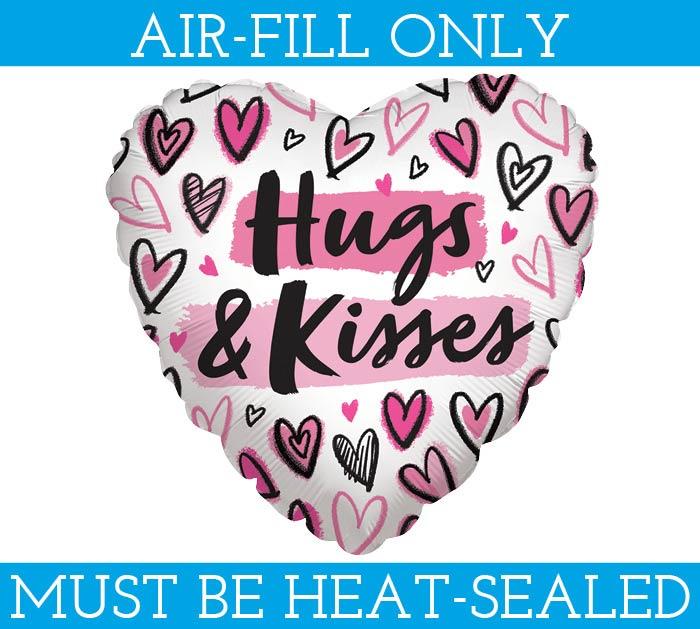 """9""""FLAT HNK MINE ALL MINE HUGS  KISSES"""