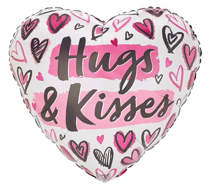 """17""""HNK MINE ALL MINE HUGS  KISSES"""