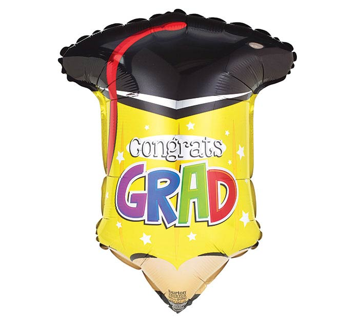 "18""GRA CONGRATS GRAD PENCIL"