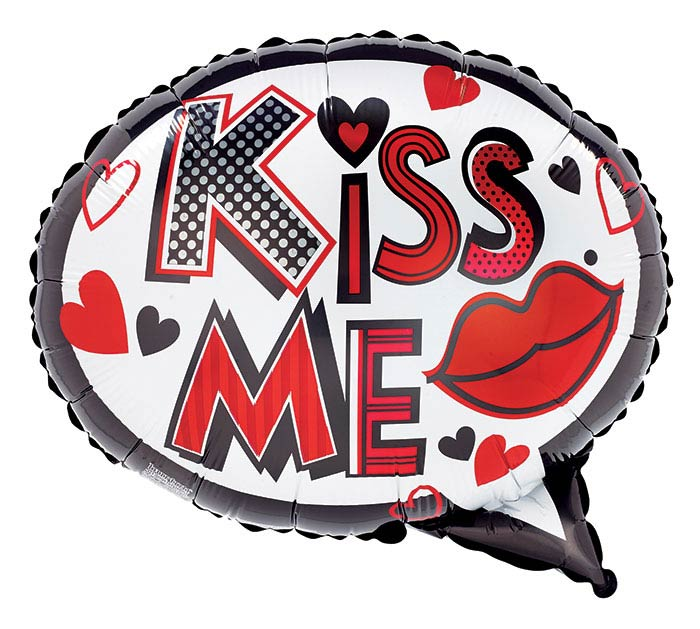 "18""LUV KISS  TELL KISS ME"