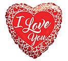 "36""ILY I LOVE YOU LOTS OF HEARTS"