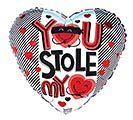 """17""""LUV YOU STOLE MY HEART"""