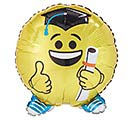 "18"" GRADUATION EMOTICON SHAPE"