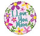 "17"" I LOVE YOU MOM FLOWERS"