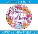 """9""""FLAT MOTHER'S DAY BRIGHT FLOWERS"""