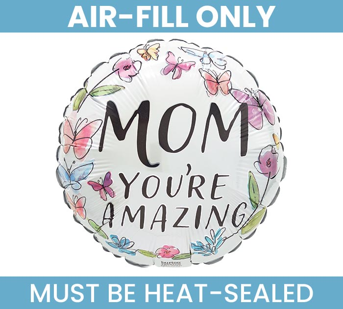 "9""FLAT MOM SPRINGBROOK MOM YOU'RE AMAZIN"