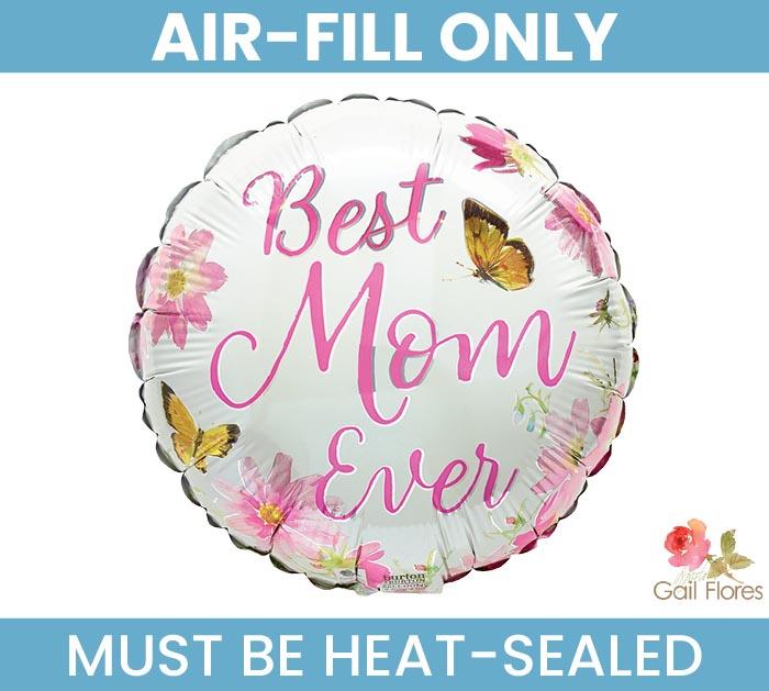 "9""FLAT BEST MOM EVER SOPHIA'S SPRING GAR"