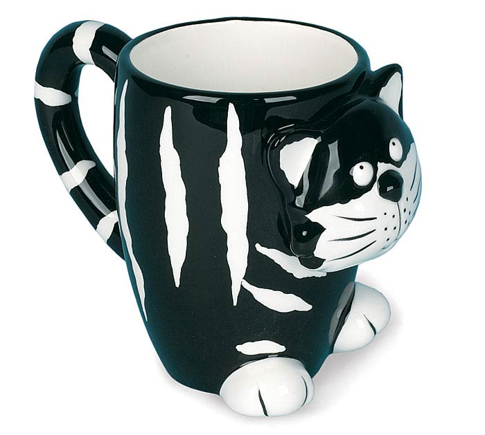 CHESTER CAT CERAMIC MUG W/BOX